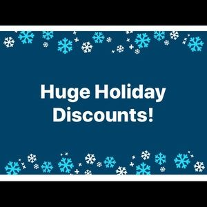 Holiday discounts!